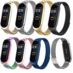 Оригинал Запасные часы Bakeey Milanese из нержавеющей стали Стандарты для Xiaomi Mi Band 4 & 3 Smart Watch