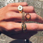 Оригинал 4 шт Ажурное резное кольцо с бриллиантом