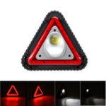 Оригинал Предупреждение о штативе Лампа COB LED Аварийная работа Многофункциональный USB + Li Батарея Треугольный знак опасности парковки Сигнал безопа