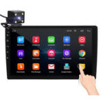 Оригинал 10,1-дюймовый 2Din для Android 8,0 Авто MP5-плеер 1 + 16G IPS 2,5D сенсорный экран стерео Радио GPS WIFI FM с резервной копией Автоema