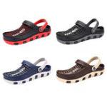 Оригинал NISМужскаяКрасивыйТапкиКрутаянескользящая дышащая мода Пляжный Спортивная обувь Сандалии