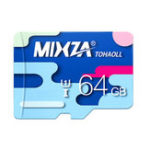 Оригинал MIXZA Colorful Edition 64GB TF Micro Memory Card для цифрового камера ТВ Коробка MP3 Смартфон