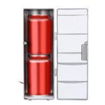 Оригинал USB Малый Авто Холодильник Офисный Компьютер Лед Холодильное Отопление DC 5V