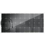 Оригинал 150 Вт 18 В 1470 * 670 * 3 ММ Полужесткая передняя электропроводка Монокристаллический ПЭТ Солнечная Панель с MC4 Коннектор