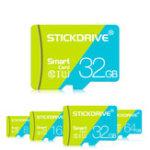 Оригинал StickDrive 8GB 16GB 32GB 64GB 128GB Class 10 Высокоскоростная карта памяти TF с адаптером для карты для мобильного телефона iPhone Samsung Планшет GPS камера Автомобил