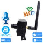 Оригинал JIENUO JN-6508AR-D Мини IP камера Wifi 1080P Видеонаблюдение Поддержка видеонаблюдения Слот Micro SD Слот Ipcam Wireless Home Маленький IP камера