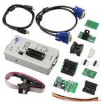 Оригинал RT809F USB PC Ремонт Инструмент Программатор +7 Адаптеры + SOP16 SOP20 IC Clip LCD Считыватель LCD BIOS ISP / USB / VGA