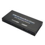 Оригинал NK-D941 4×1 Четырехканальный разделитель экрана Multi-Viewer 1080P Разветвитель с бесшовным коммутатором Video Switcher