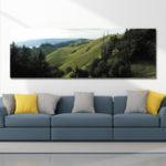 Оригинал DYC 10560 Single Spray Масло Картины Фотография Горы Пейзаж Для Украшения Дома Картины Стены Искусства