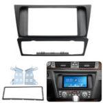 Оригинал 2Din Авто Радио Панель лицевой панели объемного звучания Пластина Адаптер для BMW 3 серии E90 E91 E92 E93 04-12