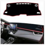 Оригинал  Обернутая дуга плотно черная приборная панель для Toyota Corolla 2019 – 2020