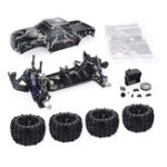 Оригинал ZD Racing Camouflage Color MT8 Pirates3 1/8 4WD 90 км / ч Бесколлекторный RC Авто Набор без электронных компонентов