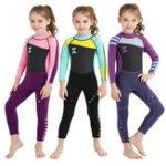 Оригинал Kids Scuba цельный неопреновый защитный гидрокостюм UV