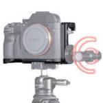 Оригинал UURig R013 L Quick Release Пластина Кронштейн для удлинителя Vlog с холодной колодкой 1/4 Болт для Sony A73 A7R3 A7M3 камера