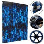 Оригинал ПВА Гидрографическая пленка Водопередача Печатная пленка Hydro Dip Blue Fire Украшения стиля