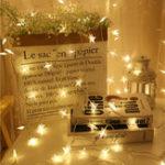 Оригинал Пятиконечная Звезда LED на Батареях с Питанием от Света Рождественская Фея Занавес Свет для Украшения Дома Партии