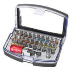 Оригинал 32-шт. Отвертка Набор битов Precision Mini Болт с плоской головкой и шестигранным хвостовиком