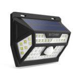Оригинал Blitzwolf® BW-OLT1 Солнечная Мощность 62 LED PIR Motion Датчик Настенный светильник Широкоугольный Водонепроницаемы для На открытом воздухе Сад Безопас