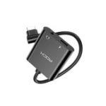 Оригинал ROCK 3A 2 IN 1 Dual Type-C PD Быстрая зарядка Аудио адаптер Кабель для HUAWEI P30 XIAOMI MI9 IPAD Pro PIXEL 3XL