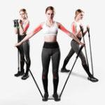 Оригинал Latex Abdominal Wheel Elastic Rope Strength Training Belt