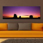 Оригинал DYC 10384 Single Spray Масло Картины Фотография Пейзаж Тропический Восход Wall Art Для Украшения Дома
