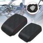 Оригинал Кожа PU Авто Консоль центрального подлокотника Коробка Защитная крышка для Honda Civic 2006-2011