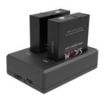 Оригинал SJcam SJ9 Series камера Двухпортовое зарядное устройство Батарея