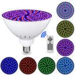 Оригинал 120 В 35 Вт RGB 415 LED Плавание Бассейн Свет Colorful Смена подводной лампы с контроллером Дистанционный