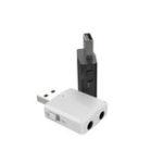 Оригинал iMars Bluetooth 5.0 Аудио Приемник Передатчик Стерео AUX RCA USB 3,5 мм Разъем Для ПК ПК Авто Набор Беспроводной адаптер