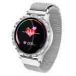 Оригинал Bakeey D18 Milanese Ремешок Физиологический Цикл Артериальное Давление Монитор Несколько Режимов Спорта Мода Smart Watch
