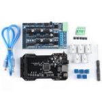Оригинал Модернизированная клонированная материнская плата контроллера RE-ARM 32Bit + плата TMC2218 V1.2 + Ramps1.5 Набор для Ramps 1.4 1.5 1.6 3D-принтер