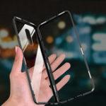 Оригинал Bakeey 360 ° Магнитная Адсорбционная Металлическая Закаленное Стекло Защитная Флип Чехол для OnePlus 7