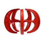 Оригинал 900 Вт 12 В / 24 В 5 Лопасти Фонарь Ветрогенератор Вертикальная Ось с Контроллером