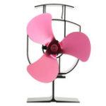 Оригинал Тепловой вентилятор с 3-лопастным тепловым вентилятором для дров / горелки / камина Eco Friendly