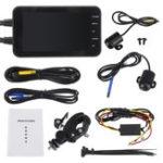 Оригинал 4″ FHD Dual Waterproof 1080P+720P 140° Motorcycle DVR Dash Camera Video Recorder Camcorder