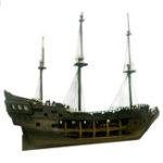 Оригинал Новый 1:50 DIY Черная Жемчужина Корабль Модель Строительные Наборы для Пиратов Карибского моря DIY Набор Комплектов Сборка Игрушка Лодка