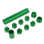"""Оригинал Зеленый 5/8 """"-24 или 1/2 """" – 28 Алюминиевый топливный фильтр-ловушка для растворителя для NAPA 4003 WIX 24003"""