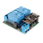 Оригинал 2-канальный Мотор контроллер положительный и отрицательный Мобильный WIFI Дистанционное Управление Переключатель для IoT Умный дом кросс-мас