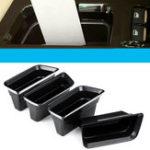 Оригинал 4шт подлокотник передней двери Авто хранения Коробка для Ford Fusion 2013-2019