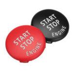 Оригинал Стартовый Стоп Двигатель Кнопочный выключатель красная черная крышка для BMW X5 E70 X6 E71 3 E90 E91 E92 E93