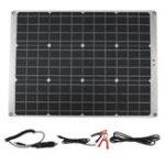 Оригинал 70 Вт 12 В Двойной 5V USB Портативный Солнечная Панель Зарядки Плата Эффективная Батарея Зарядка Для RV Авто Лодка