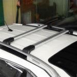 Оригинал 2Pcs 93-99mm Авто Перекладина в крыше Багаж Автоrier Для всех Автоs Поднятый рельс