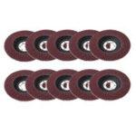 Оригинал 10шт 115мм шлифовальные лоскутные диски металлические шлифовальные лоскутные диски шлифовальный круг для угловых шлифовальных машин