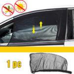 Оригинал Универсальный солнцезащитный козырек Авто Черное переднее боковое окно обеспечивает защиту UV
