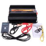 Оригинал 1000 Вт 12 В постоянного тока до 220 В переменного тока-240 В переменного тока портативный инвертор модифицированный синусоидальный инвертор с ц