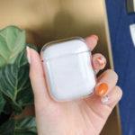 Оригинал Bakeey Clear Противоударный Наушник Защитный Чехол Для Apple AirPods 1 2