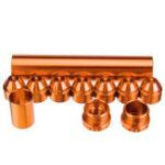 """Оригинал 5/8 """"-24 или 1/2 """" – 28 Алюминиевый топливный фильтр-ловушка для растворителя для NAPA 4003 WIX 24003"""