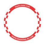 Оригинал LDARC 500 мм Круглый Flying Racing Gate Door для RC Дрон Игровой конкурс