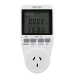 Оригинал Smart Разъем Большой экран Мощность Монитор Разъем AU Plug Record Накопленные затраты времени и электроэнергии в киловатт-часах.