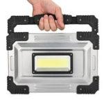 Оригинал IPRee® 50 Вт LED COB Рабочий свет IP65 Водонепроницаемы USB Аккумуляторный прожектор Прожектор На открытом воздухе Кемпинг Аварийный фонарь